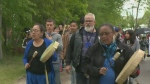 Walking for missing and murdered Indigenous men