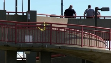 A man was stabbing at the Marlborough LRT on Sunday afternoon. Four people were arrested in connection with the incident.