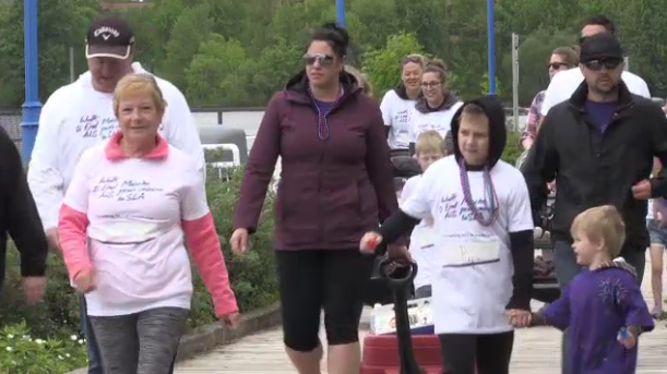 Many gathered in North Bay for a walk to raise money and awareness for ALS