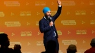 NDP Leader Jagmeet Singh arrives to speak at the Ontario NDP Convention in Hamilton, Ont., Sunday, June 16, 2019. THE CANADIAN PRESS/Tara Walton