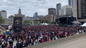 Nathan Phillips Square, Monday, June 17, 2019. (Toronto Mayor John Tory / Twitter)