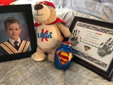 Kayge Fowler, 5, lost his battle with DIPG