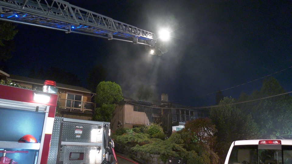 A house fire tore through a Deep Cove home early on Monday, June 17.
