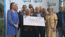 The Lanteri family wins a $65 million Lotto Max prize.