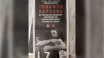 A full-page ad in the Toronto Star from the Golden State Warriors congratulating the Toronto Raptors on their NBA Championship is shown in Toronto on Monday, June 17, 2019. (THE CANADIAN PRESS/Graeme Roy)