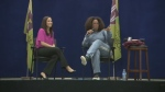 Oprah offers wisdom at Montreal school