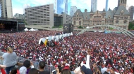 Coverage of the Toronto Raptors victory parade