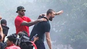 Marc Gasol is the victory parade MVP