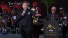 Officials interrupt Raptors celebration