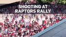 Shooting mars Raptors celebration, causes stampede