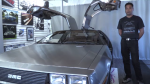 delorean milton back to the future