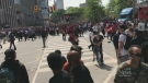 Raptors fans flee after gunshots fired in Toronto