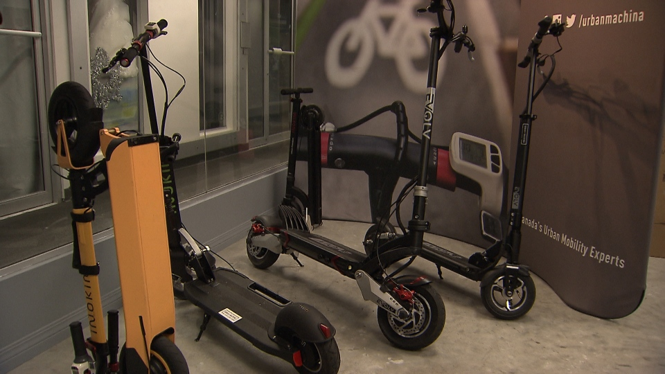 Growing demand for e-scooters