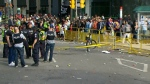 Nathan Phillips Square, shooting
