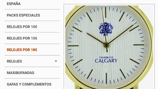 Spanish accessory company logo similar to City of Calgary