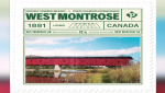 The covered bridge in West Montrose is featured in a new Canada Post stamp.