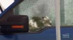 Dash cam video played in first-degree murder trial