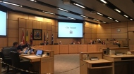 Regina city council holds a special meeting on June 17, 2019. (Cole Davenport/CTV Regina)