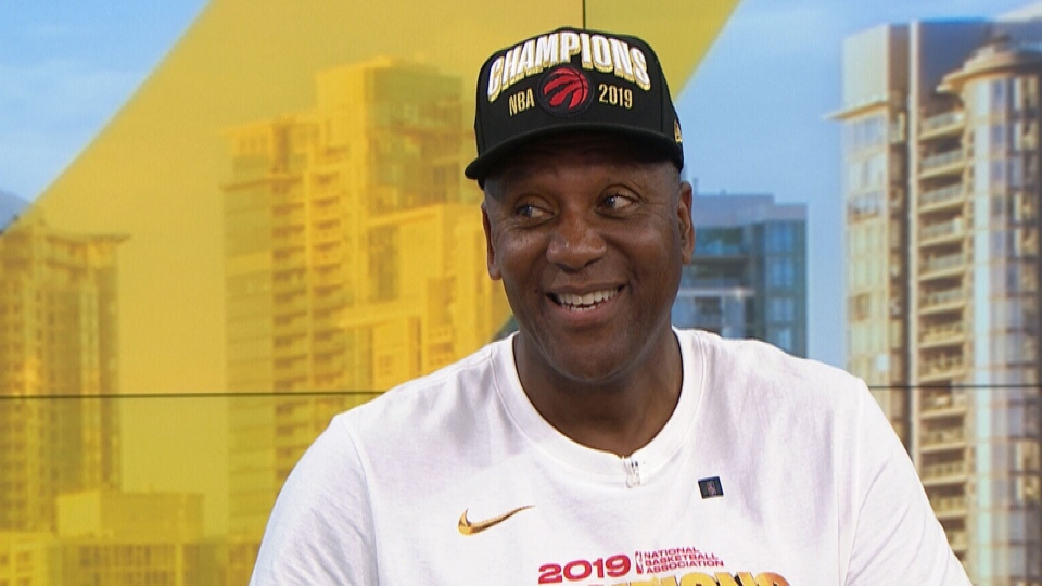 Joe Carter appears on CTV's Your Morning to discuss the Raptor's victory parade, Tuesday, June 18, 2019.