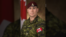 Bombardier Patrick Labrie, a member of the 2nd Regiment, Royal Canadian Horse Artillery based at 4th Canadian Division Support Base Petawawa, Ont., has died as a result of his injuries during parachute training as part of Exercise SWIFT RESPONSE 19. (Source: Canadian Armed Forces)