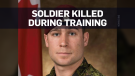 Canadian soldier killed during parachute training