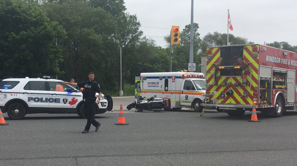 Police seek driver after hit-and-run crash involving motorcycle
