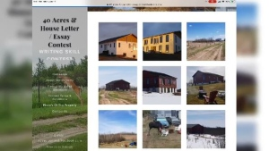 40 Acres and a house letter/essay contest website