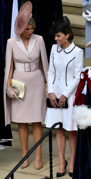 Duchess Kate, Queen Maxima