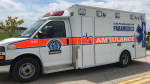 An ambulance for Guelph-Wellington Paramedics. (Courtesy: OPP)