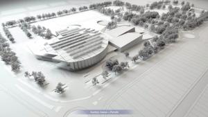 Lewis Farms rec centre rendering