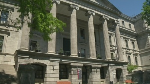 Montreal is working out of temporary city hall for several years