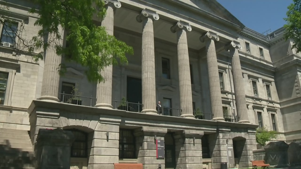 Montreal's temporary city hall