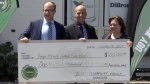 Donation to help food bank with fresh food