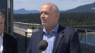 Premier John Horgan says he's disappointed by the approval of the Trans Mountain pipeline expansion project.