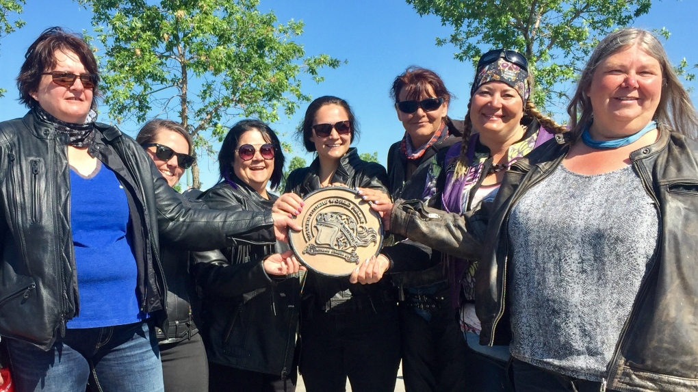 'We need equipment that fits': Women motorcyclists ride across Canada to address gear gender gap