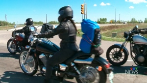 30-hour journey for female bikers