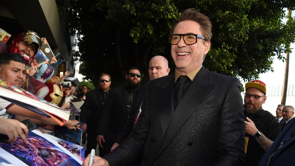 Shark attack survivor gets message from Robert Downey Jr.