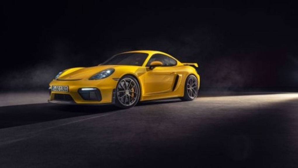 Porsche tops 718 model series with 2020 Spyder and 2020 Cayman GT4