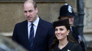 Prince William and his wife Kate have contacted the woman hit by a motorbike in their convoy. AFP