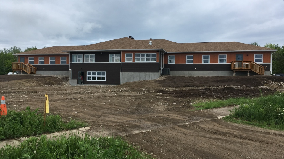 A new shelter for victims of family violence, based on the Anishinabe culture, opens on Wiikwemkoong Unceded Territory. (Lyndsay Aelick/CTV Northern Ontario)