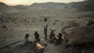 This undated photo provided by Netflix shows a scene from the series 'Jinn.' (Netflix via AP)