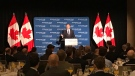 Morneau speaks to the Economic Club of Canada in Calgary on Wednesday, June 19, 2019.