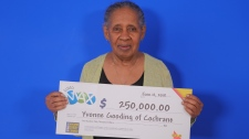 Yvonne Gooding of Cochrane wins $250,000 in Lotto Max draw (OLG)