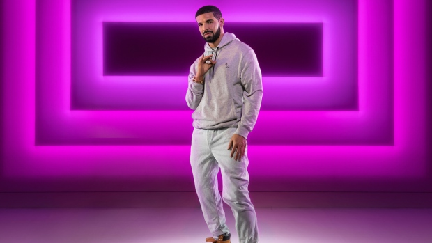 A new wax figure of recording artist Drake appears at Madame Tussauds in Las Vegas, Nevada in an undated handout photo. (THE CANADIAN PRESS/HO - Madame Tussauds Las Vegas, Key Lime Photography)