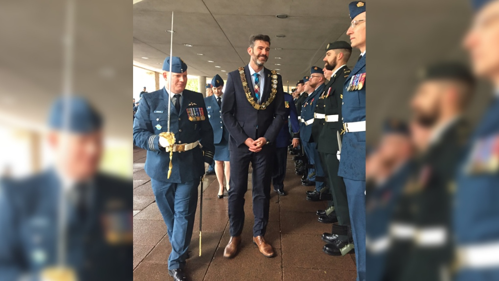 Helicopter squadron honoured by the City of Edmonton