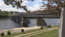Hartland's historic covered bridge featured on sta