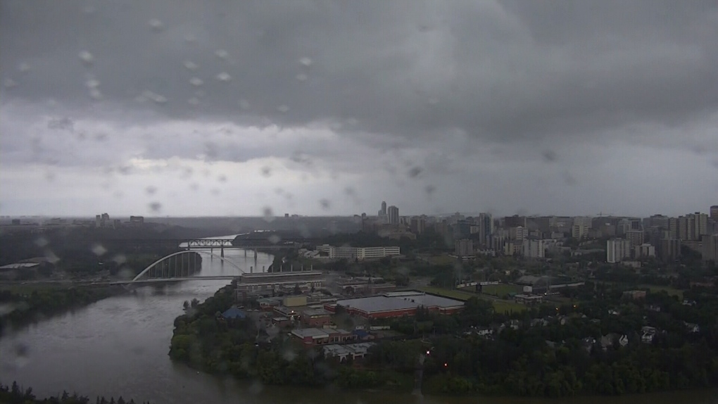 Rainfall warning: 40-80mm possible in Edmonton by Friday