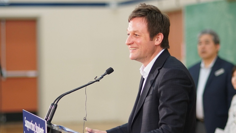 Minister of Education Rob Fleming. (Photo Province of B.C./Flickr)