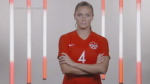 Shelina Zadorsky's soccer career has made quite the bounce. (Source: Canada Soccer)