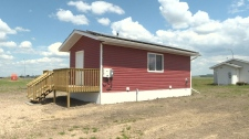 Cote First Nation builds tiny homes